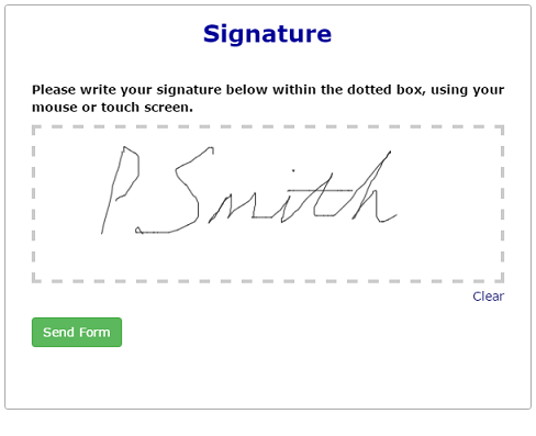 Signature Question